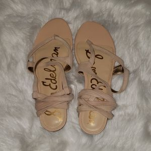 Sam Edelman- Davina- Tan leather sandles